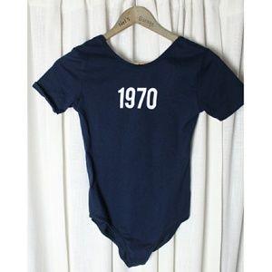 Zara 1970 Bodysuit  * Needs Mended*